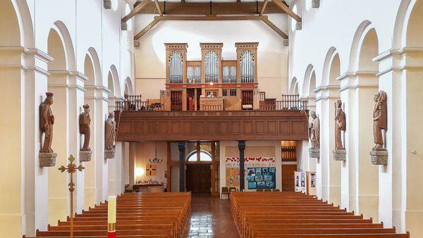 Orgel Saalfelden Dekanatspfarrkirche